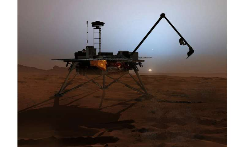 Chlorate-rich soil may help us find liquid water on Mars