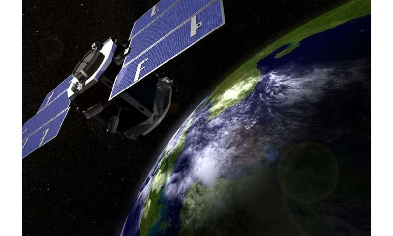 CloudSat exits the 'A-train'