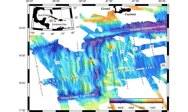 Cold production of new seafloor