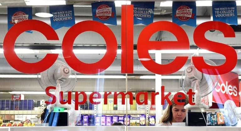 Coles says some stores have moved the milk supplement from isles to behind counters