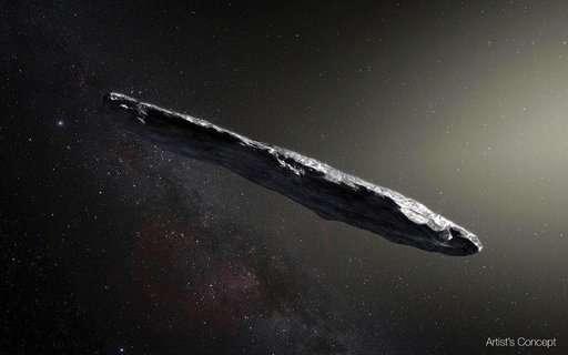 Comet or asteroid? Scientists ID interstellar visitor