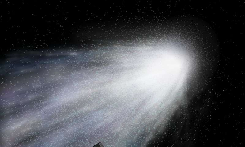 Comet provides rare chance to study solar system's origins