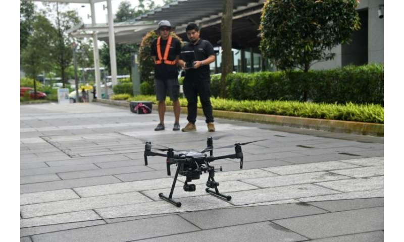 Companies in Singapore have already started testing drones for commercial use