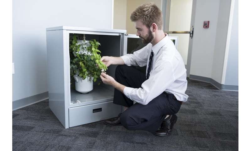 Computer-controlled 'greenhouses' in kitchens grow fresher, healthier produce