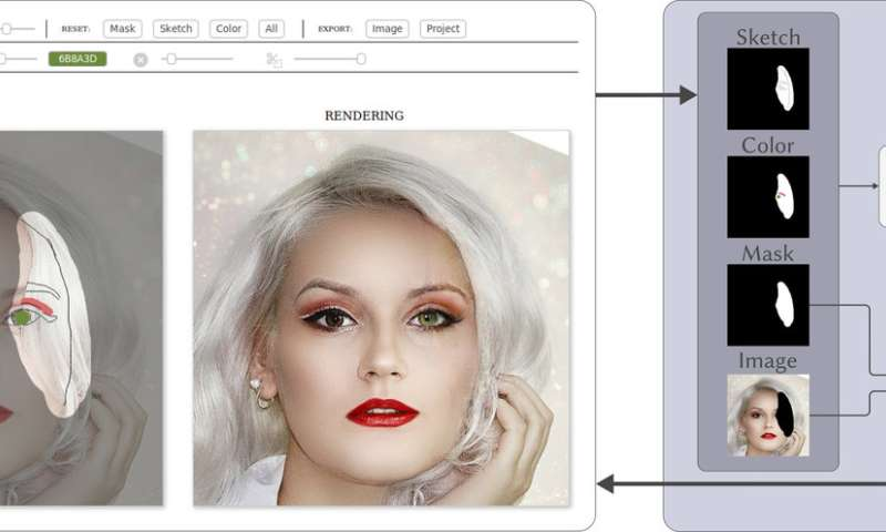 Computer graphics research team to present new tool for sketching faces