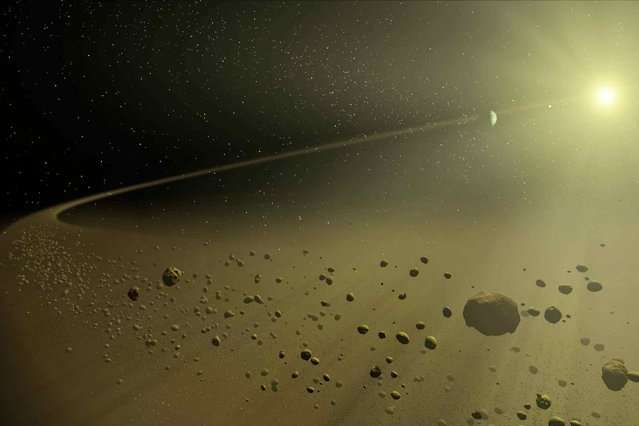 Computer seeks telescopic data for evidence of distant planets