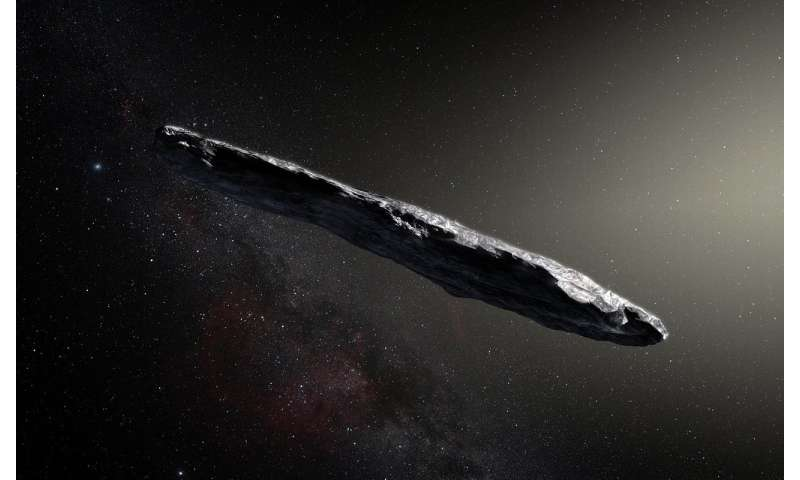 Could 'Oumuamua be an extra-terrestrial solar sail?