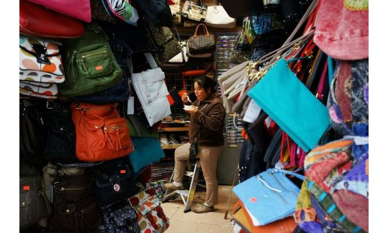 Counterfeit handbags are among the billions of dollars in knock-off products imported each year, with China a major epicenter fo