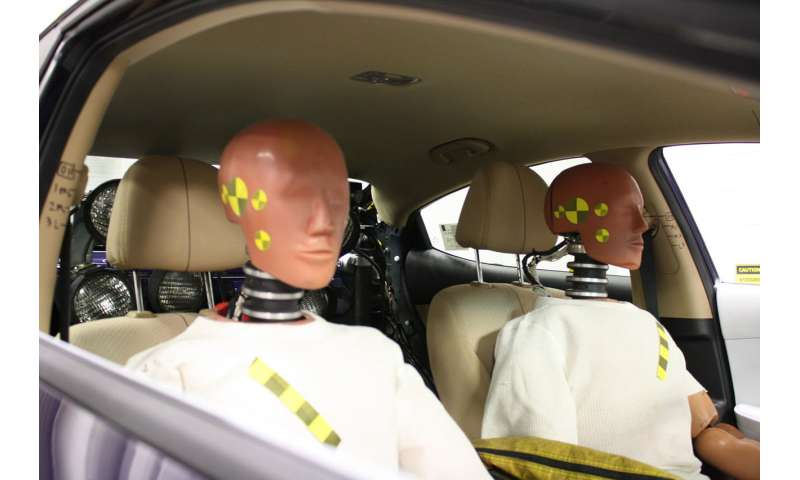 Crash test dummies based on older bodies could reduce road fatalities