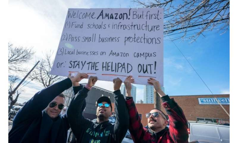 Critics fear Amazon's arrival in Queens will accelerate gentrification in a city where affordable housing is increasingly rare a