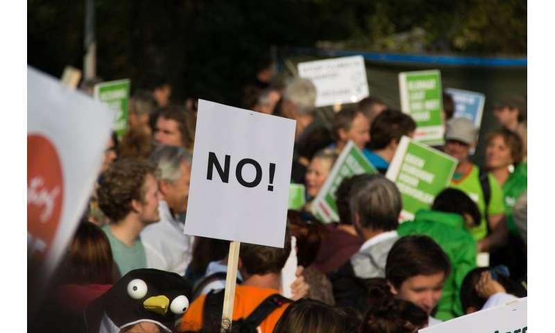 crowd demonstration