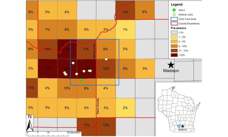 CWD prions discovered in Wisconsin soils for the first time