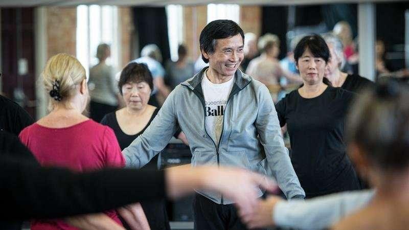 Dance aids healthier ageing