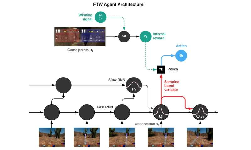 DeepMind AI shows off winning cooperative team behavior