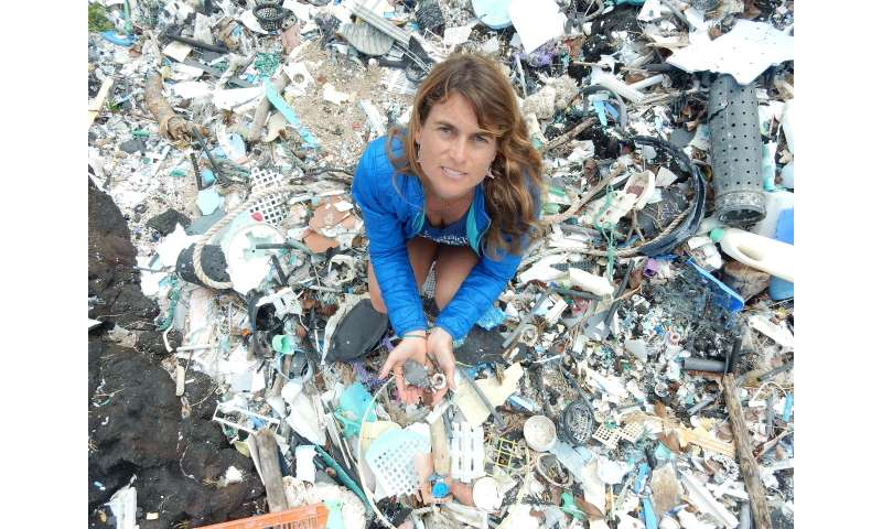 Degrading plastics revealed as source of greenhouse gases