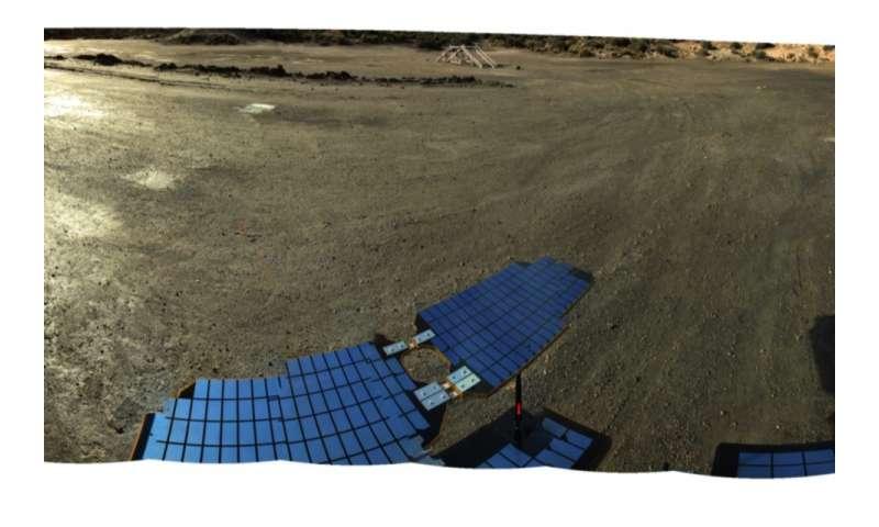 1,000 miles Martian desert test drive