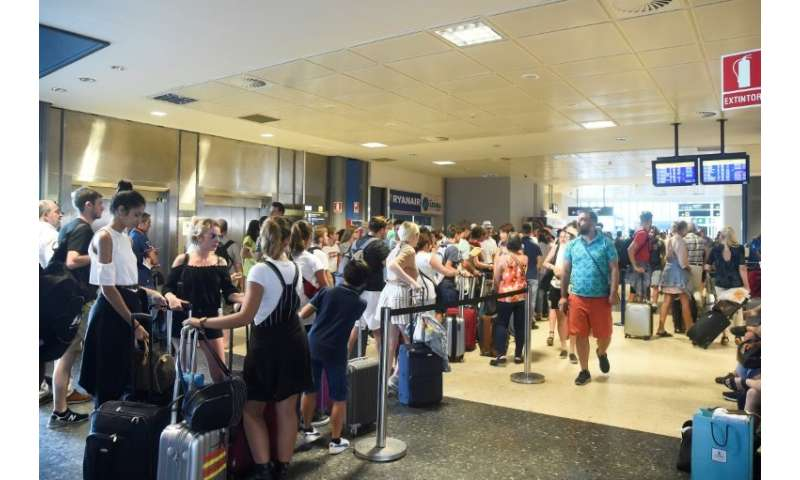 Despite cancelling 600 flights ahead of the strike, it was forced to cancel more on Wednesday and Thursday