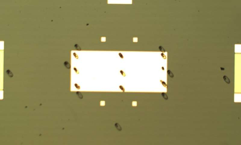 Diamond dust enables low-cost, high-efficiency magnetic field detection