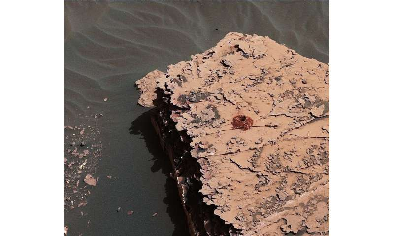 Drilling success: Curiosity is collecting Mars rocks