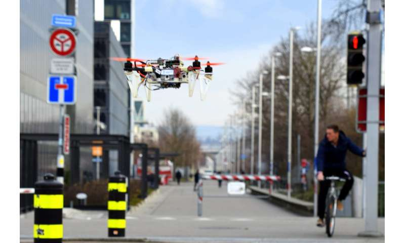 Drones learn to navigate autonomously by imitating cars and bicycles