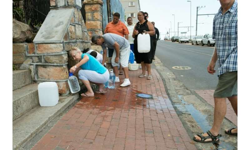 Drought-hit Cape Town earlier this year came within weeks of shutting off all its taps and forcing residents to queue for water