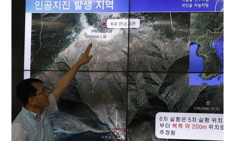 Earthquake science could have predicted North Korea's nuclear climbdown