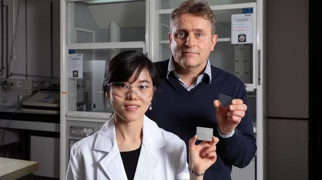 Electrochemistry flushes out antibiotic-resistant proteins