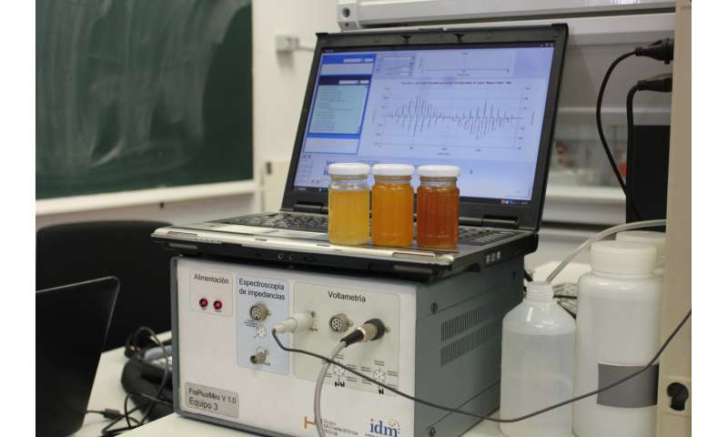 Electronic tongue allows for the fast, cheap detection of adulterated honey