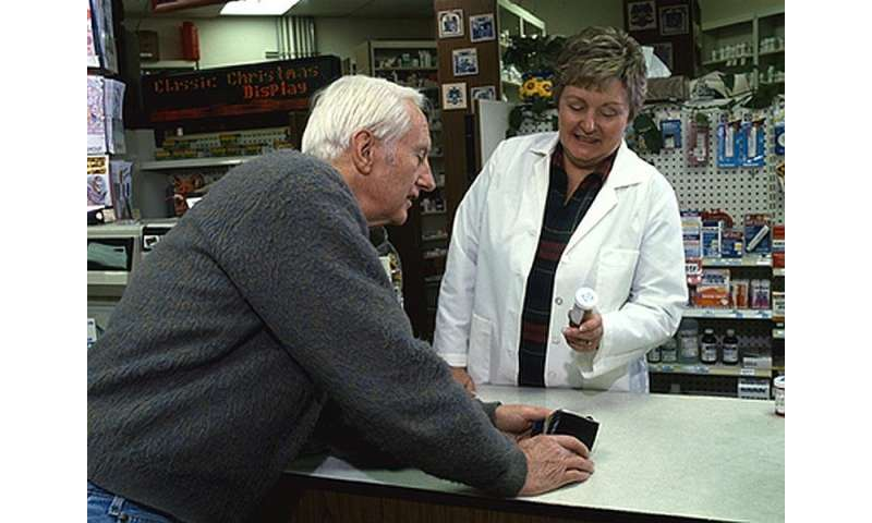 Enlist a pharmacist to help manage high blood pressure