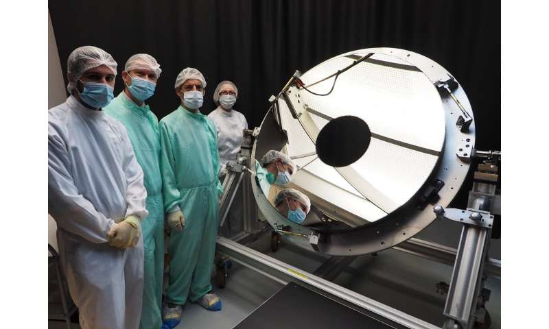 Euclid progresses with primary mirror delivery