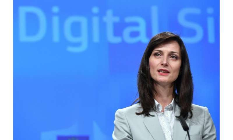 "EU Digital Economy Commissioner Mariya Gabriel said the commitment was ""a step in the right direction"""