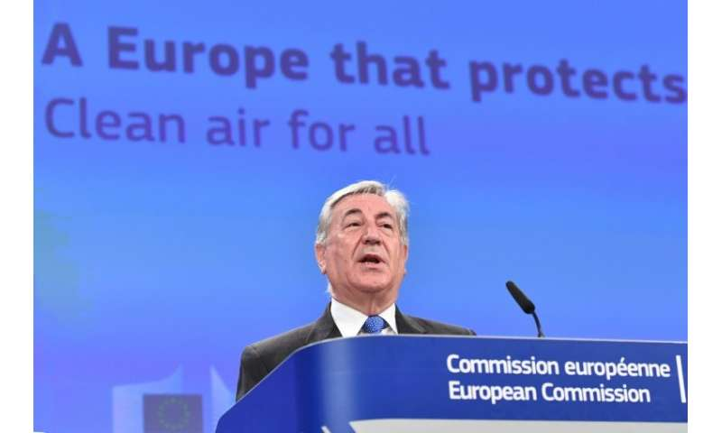 EU Environment Commissioner Karmenu Vella said some countries had failed to act quickly enough on pollution
