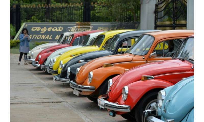 "Even as Volkswagen announced it would end production of its iconice ""Beetle"" cars in 2019, Volkswagen Group of America"