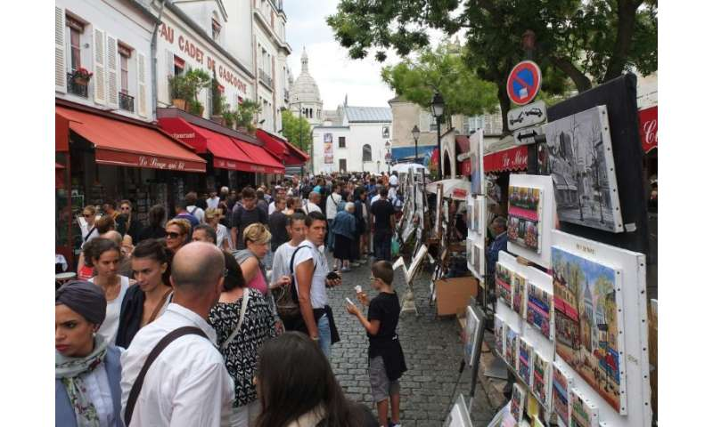 Even the street artists in Montmartre's Place du Tertre feel under threat from the proliferation of cheap artwork in local touri