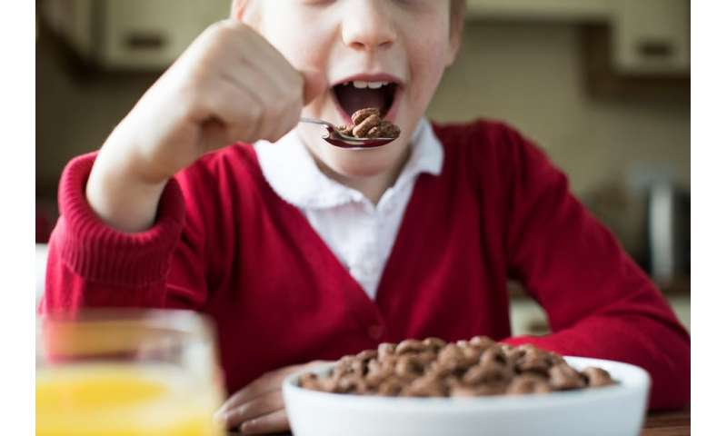 Exaggerated portions alongside real nutrition claims on cereal boxes may mislead consumers – new study