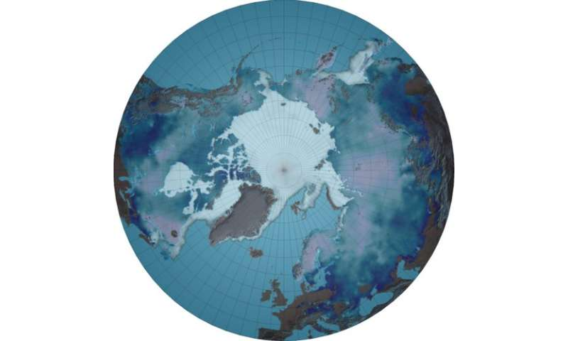 Exceptionally large amount of winter snow in Northern Hemisphere this year