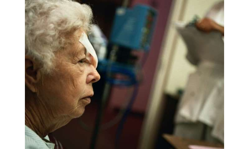 Eye trauma secondary to falls in older adults increasing