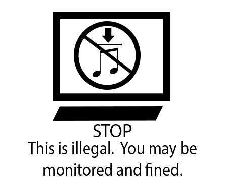 Face the music: Explicit anti-piracy warnings are best deterrent