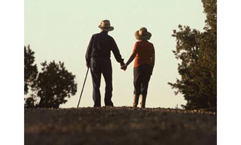 Falls more common in elderly with cognitive impairment