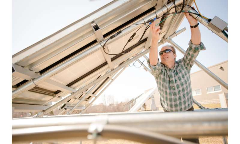 Farm sunshine, not cancer: Replacing tobacco fields with solar arrays