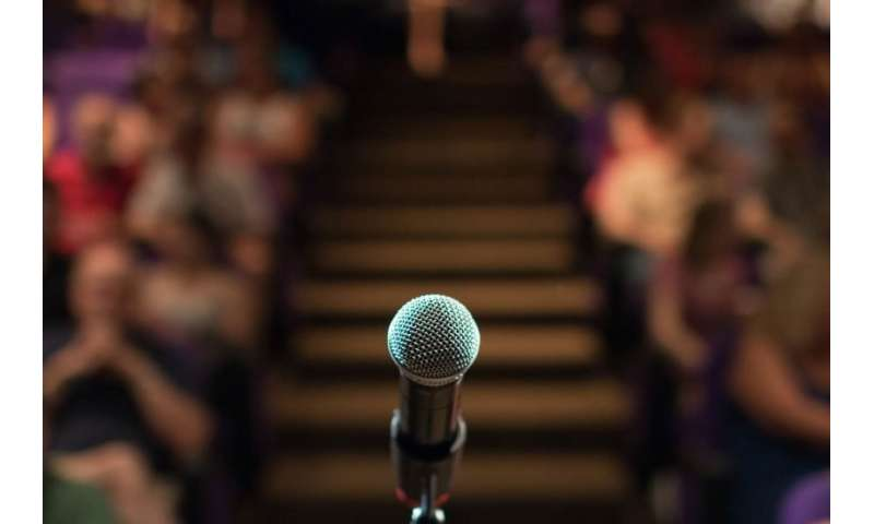 Fear of public speaking could be solved with virtual audience