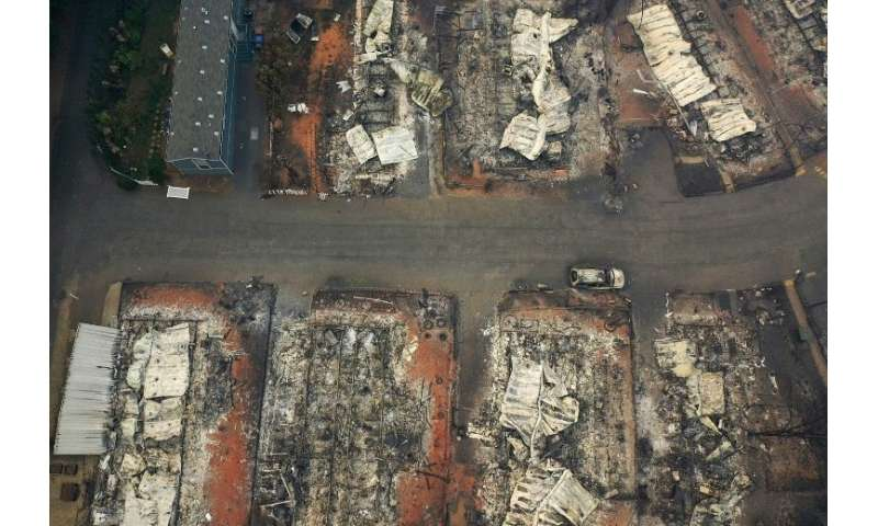 Fires in the United States in November caused billions of dollars worth of destruction