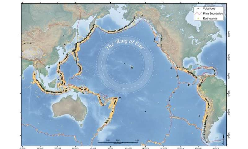 Five active volcanoes on my Asia Pacific 'Ring of Fire' watch-list right now