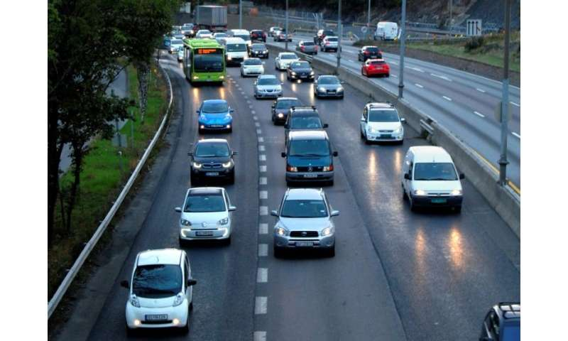Five percent of all passenger cars on the road in Norway are plug-in electric vehicles