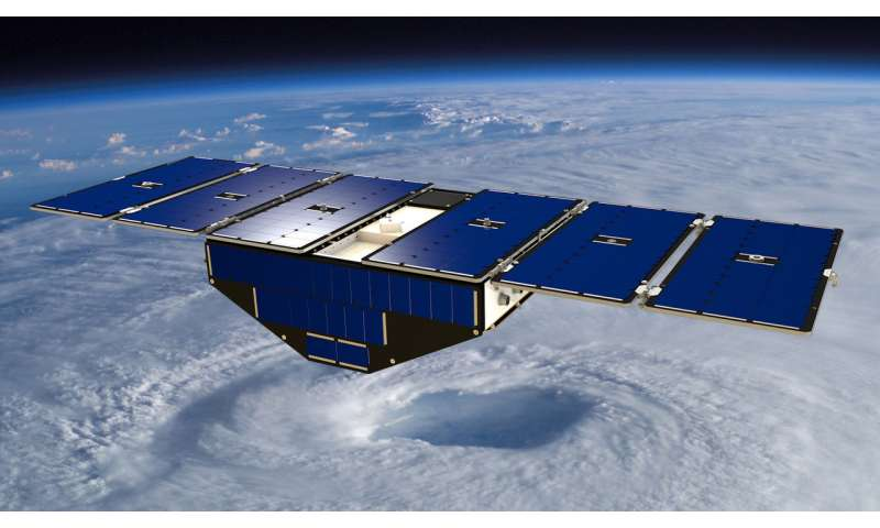 Flood detection a surprising capability of microsatellites mission