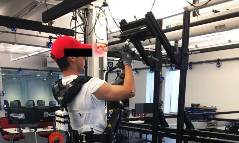 factorio how to use exoskeleton