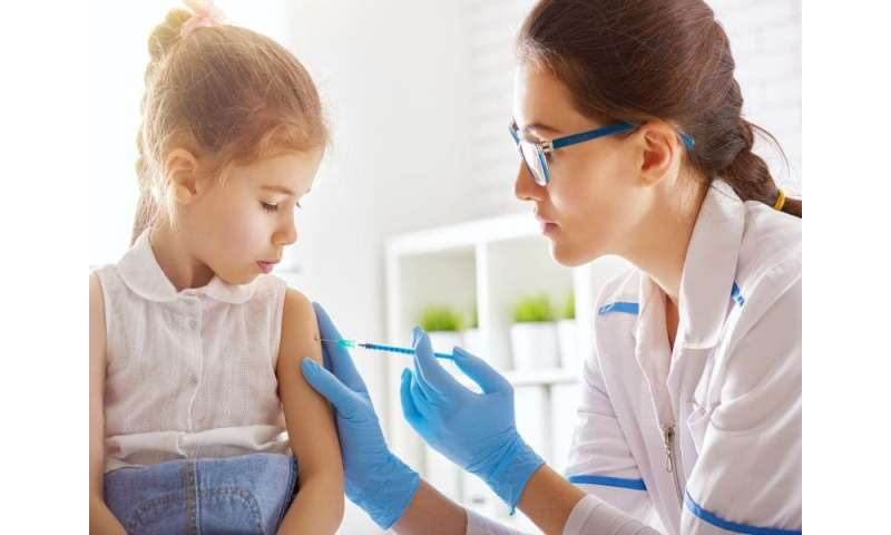 For school kids, vaccines are key