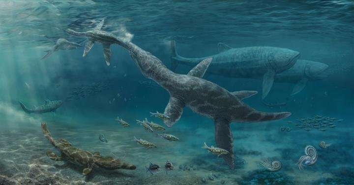 Fossil teeth show how reptiles adapted to change