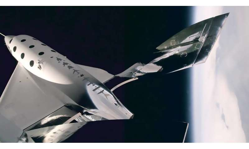 Four NASA-sponsored experiments set to launch on Virgin Galactic spacecraft