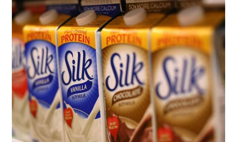 French group Danone sells Silk soy milk and Horizon organic milk in the US